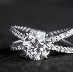 David Yurman Crossover Engagement RingYesss