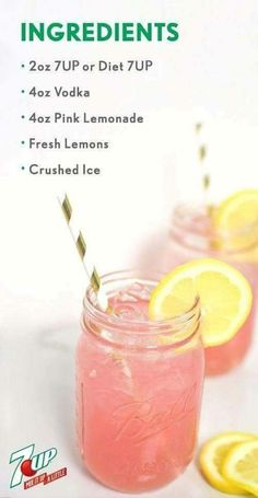 This Easy Adult Pink Lemonade is no lemonade stand creation. But don't worry, made with vodka, Check it out This Easy Adult Pink Lemonade is no lemonade stand creation. But don't worry, made w Refreshing Drinks, Yummy Drinks, Simple Vodka Drinks, Simple Cocktail Recipes, Good Bar Drinks, Pink Lemonade Recipes, Strawberry Vodka Drinks, Pink Alcoholic Drinks, Vodka Lemonade Drinks