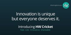 Today. 12th May 2016. It's APPening now! #NothingButScores #HWCricket #IPL #IPL2016 #Cricket #App #Android
