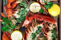Coastal Cobb Salad with Creamy Cilantro Lemon Dressing - Kit's Coastal - Amazing Foods Menu Recipes Steamed Lobster, Grilled Lobster, Grilled Shrimp, Cajun Shrimp, Paleo Peach Cobbler, Blueberry Cobbler, Lobster Recipes, Shrimp Recipes, Bourbon Meatballs
