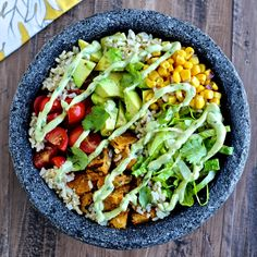Protein-Packed Vegetarian Burrito Bowls   The Foodie Physician