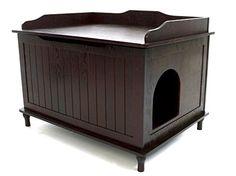 Designer Catbox Litter Box Enclosure in Espresso Designer Catbox http://www.amazon.com/dp/B005AFMJWC/ref=cm_sw_r_pi_dp_SZdqwb1PQRB4P