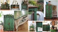 Έπιπλα αντικέ - παλαιωμένης όψης σε Πράσινο χρώμα Kitchen Island, Home Decor, Island Kitchen, Decoration Home, Room Decor, Home Interior Design, Home Decoration, Interior Design