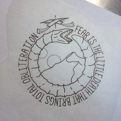 Who controls the Spice, controls the universe. #tattoo #tattooart #tahoe…