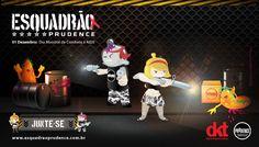 Advergame para o dia de combate a AIDS. Esquadrão Prudence! Aliste-se e entre nessa causa! www.esquadraoprudence.com.br