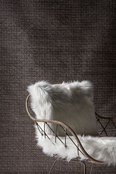 Winter gets woolly with a combination of textured rugs and a traditional Javanese handcrafted chair. Nordic Furniture, Funky Furniture, Furniture Decor, Furniture Design, Funky Home Decor, Rooms Home Decor, Weylandts, Clean Sofa, Interior Design Elements