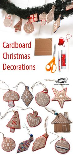 Christmas Cardboard Decoratoins