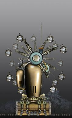 If It's Hip, It's Here: Steampunk Meets Architecture: Habitat Machines & Factories by David Trautrimas