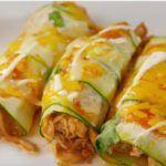 Low Carb Chicken Zucchini Enchiladas | Jodeze Home and Garden