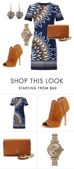 """""""Tory Burch Outfit"""" by arta13 ❤ liked on Polyvore featuring Tory Burch, Michael Kors, Shinola and Suzanne Kalan"""