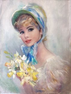 Fashion - Donald Art Company Collection - Lilly is Love Romantic Paintings, Beautiful Paintings, Kitsch, Art Of Man, Victorian Art, Love Painting, Beauty Art, Vintage Postcards, Cool Artwork