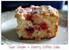 Mommy's Kitchen - Old Fashioned & Southern Style Cooking: Sour Cream & Cherry Coffee Cake