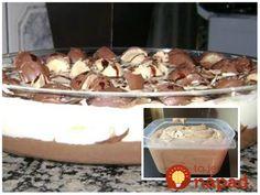 Výborný pribináčky z Granka, perfektný aj do nepečených dezertov. Ak chcete biely klasický pribináčik stačí, ak vynecháte granko. Potrebujeme: 2 tvarohy vo vaničke ja dávam odtučnené cukor podľa chuti – môže byť práškový aj obyčajný smotana na šľahanie – lepšia je tá v kelímku Granko podľa chuti, ak chcete, môžete požiť aj kakao alebo čokoládu... Pudding, Food, Custard Pudding, Essen, Puddings, Meals, Yemek, Avocado Pudding, Eten