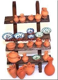 Resultado de imagen para alfareros+belenes Clay Crafts, Diy And Crafts, Fontanini Nativity, Christmas Nativity Scene, Fairy Furniture, Ceramic Houses, Fairy Garden Accessories, Quilling Cards, Clay Pots