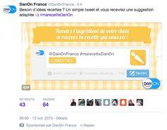 Recevoir son tweet perso #serviciel
