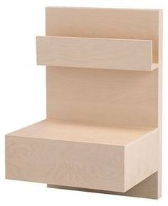 IKEA Malm Bedside Table