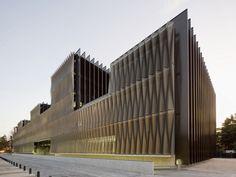 5osA: [오사] :: *커튼월 파사드 디자인하기 [ Vaíllo & Irigaray ] Biomedical Research Centre