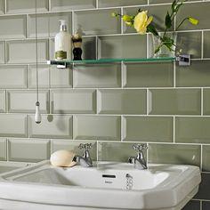 Vilar Metro Sage (Green) 10x20cm Wall Tile