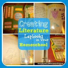 Creating A Literature Lapbook & Lapbooking Tips | Free Homeschool Deals ©