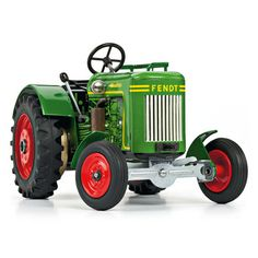 Fendt F20 Dieselross Tin Tractor toy