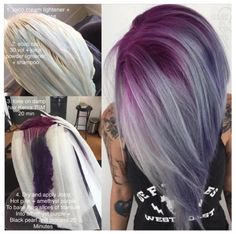@isaac4mayor is letting us in on his #hautehues secrets with this #purplehair…