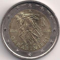 Motivseite: Münze-Europa-Südeuropa-Italien-Euro-2.00-2014-Carabinieri