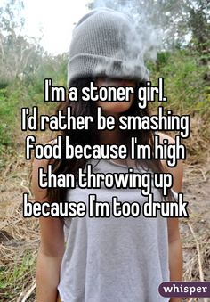 Here's 17 Honest Confessions From Stoner Girls