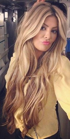 dark eyebrows with dark medium and light champagne blonde hair - Google Search