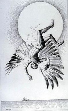 Image result for icarus illustration