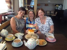 The Butterfly Belles SU team out to afternoon tea in Southend. The lovely Linden and Michelle treated me for my birthday