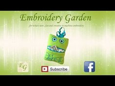 What's IN THE HOOP with Embroidery Garden / Monster Tooth Fairy Pillow - YouTube