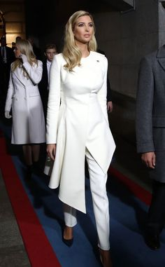 Ivanka Trump from Fashion at the 2017 Presidential Inauguration