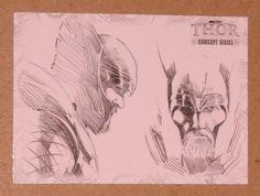 Thor Movie (UDC 2011) Concept Series Card C8 EX
