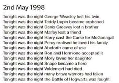 Most popular tags for this image include: harry potter, hogwarts, 17 years,