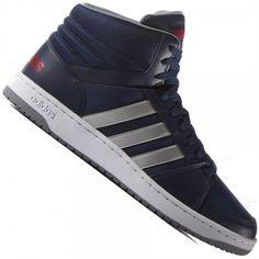Tênis Adidas Hoops VS MId Cano Alto Casual Masculino d8de35ec215b7