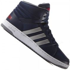 Tênis Adidas Hoops VS MId Cano Alto Casual Masculino 4f8738cbfcf8a