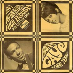 Marvin Gaye & Tammi Terrell (Tamla Motown Picture Sleeve Single 1967)