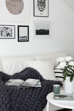 Gray days solution: A new throw blanket! | Ashley Lauren Design Studio