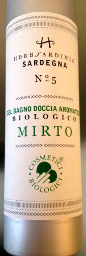 Gel Bagno Doccia Aromatico Biologico al Mirto