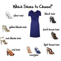 Which Shoes to Choose interesting color theory. may be the reason i love my brown boots so much :)