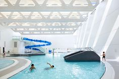 The Guildford Aquatic Centre is a 75,000 square foot expansion to the existing Guildford Recreation Centre. The new Aquatic Centre is a recreation and therap...