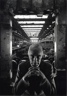 Alfred Krupp, 1963 © Arnold Newman