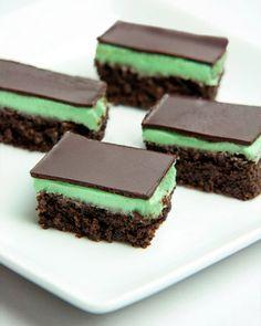 dairy and gluten-free chocolate peppermint brownies via martha stewart