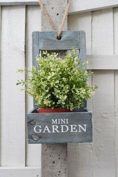 Mini Garden Planter Garden Planters, Planter Pots, Online Gift Shop, Garden Gifts, Cupboards, Shabby Chic, Shed, Gardens, Wreaths