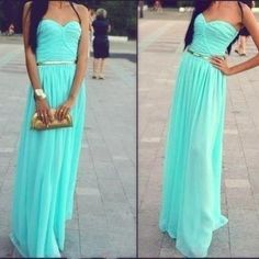Long Chiffon Evening/Party/..