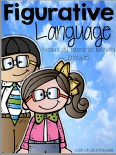 Figurative Language is always fun to teach! This resource contains 3 different options for posters and different options for Interactive Notebook printables. 5th Grade Ela, Fifth Grade, Ib Learner Profile, Alliteration, Figurative Language, Language Activities, Idioms, Interactive Notebooks, Teaching Kids