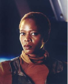 "Alfre Woodard as Lily in ""Star Trek: First Contact"" http://www.imdb.com/name/nm0005569/"