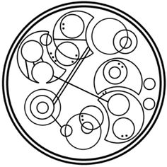 """You can't take the sky from me"" written in circular Gallifreyan requested by caitercates"