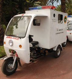 WAHA are innovatively combating maternal mortality using these motor ambulances… Emergency Medical Services, Emergency Response, Ems Ambulance, Combat Medic, Fire Equipment, Pedal Cars, Emergency Vehicles, Vintage Motorcycles, Red Cross