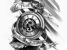 23 meilleures images du tableau tatouage montre gousset sketch tattoo lotus tattoo et clock. Black Bedroom Furniture Sets. Home Design Ideas